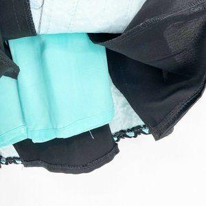 Nanette Lepore Skirts - Nanette Lepore Womens A Line Skirt Black Blue Geom